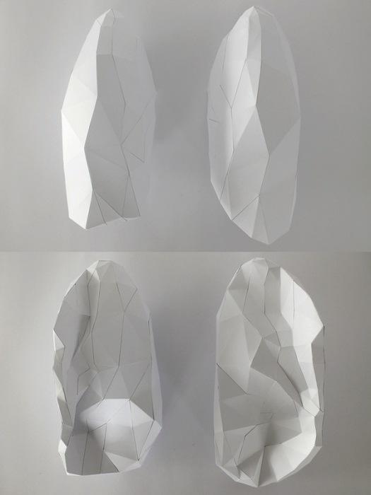 Бумажная скульптура Хорста Кихле: легкие