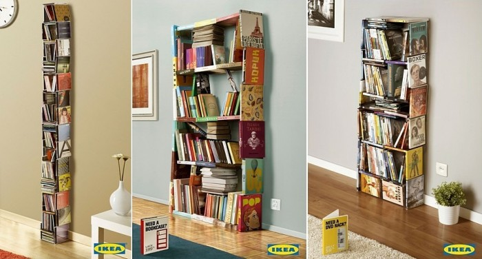 Шкафы из подручного материала: креативная реклама «ИКЕА»