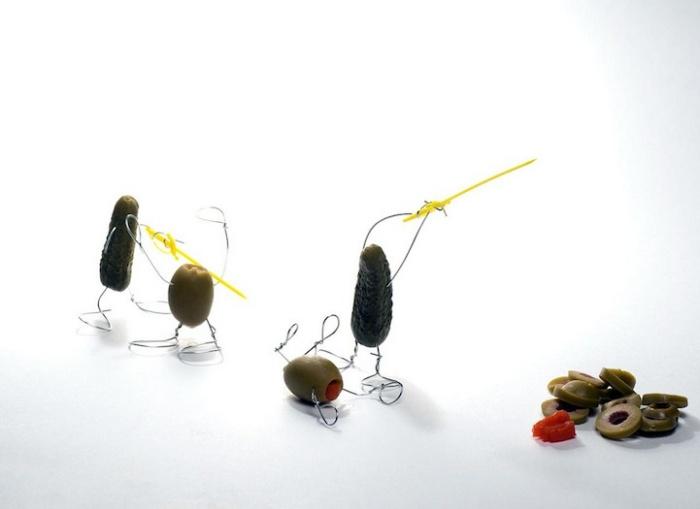 «Как делают резаные оливки»