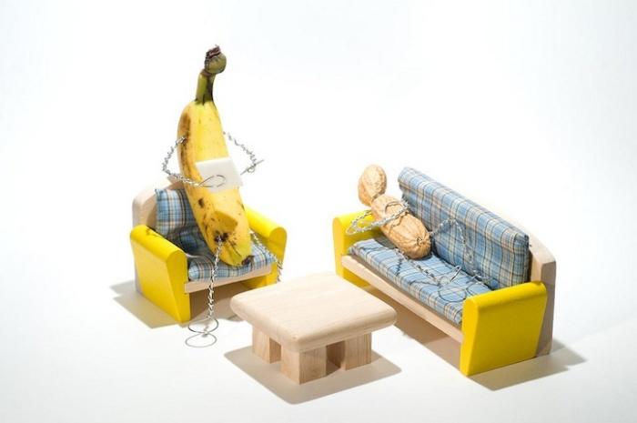 Банан-психоаналитик и чокнутый арахис