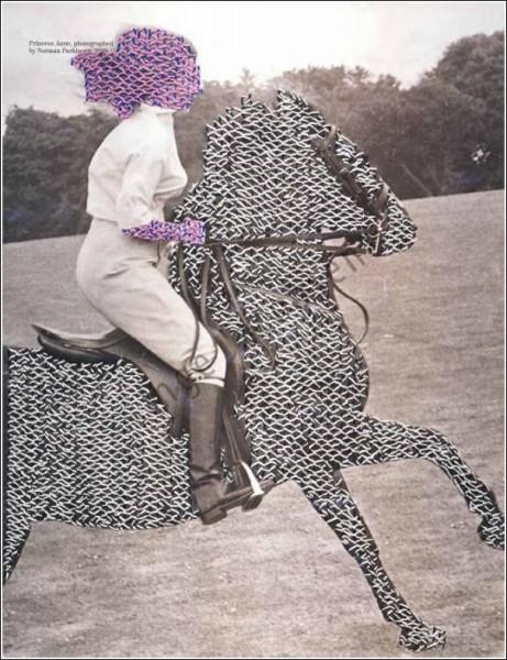 Инге Джекобсен превращает масскульт в уникальные произведения