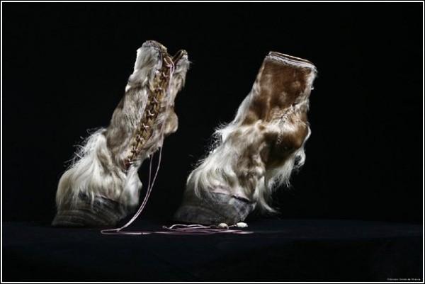 Необычная обувь Айрис Шниферштейн: копытца до окаблучивания
