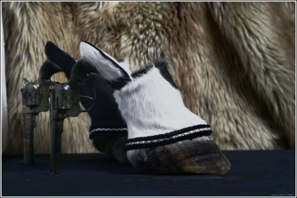 Необычная обувь Айрис Шниферштейн: убийственное сочетание