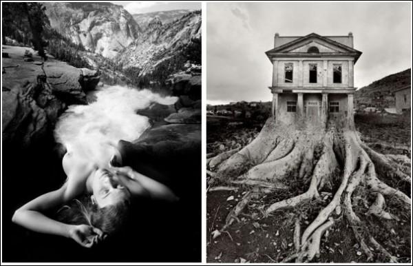 Сюрреалистический мир фотоколлажей Джерри Уэлсмана