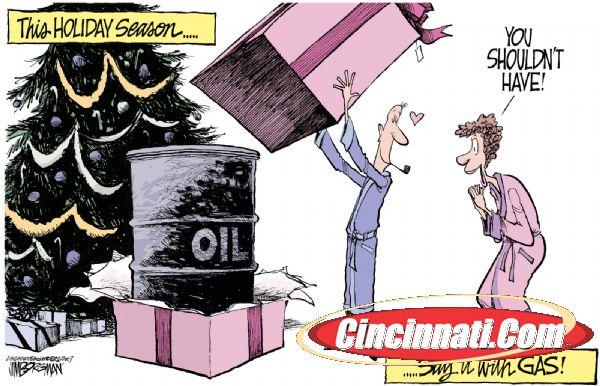 Смех сквозь горючие слезы: нефтяная идиллия