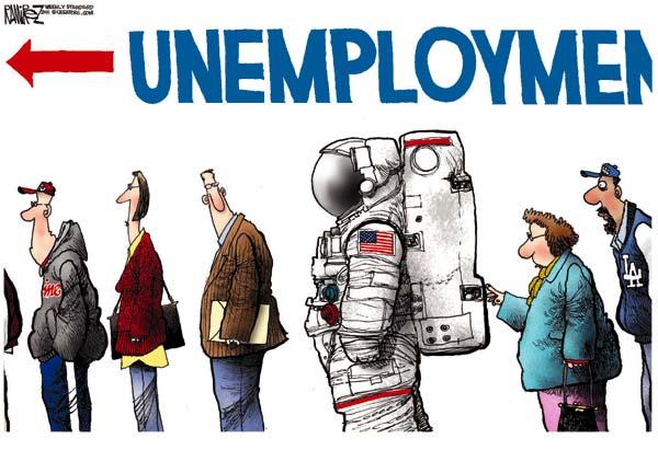 Кто крайний? Проблема безработицы в американской карикатуре