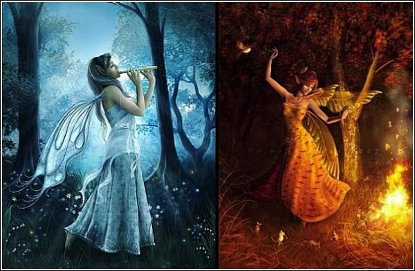 Танец эльфов: цифровая живопись Сьюзен Джастис