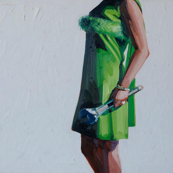 Ключница: масляная живопись Келли Римтсен
