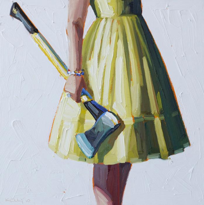Еще один топорик: масляная живопись Келли Римтсен