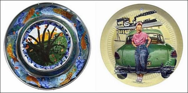 Колесные колпаки, на которых можно рисовать: проект «Искусство со свалки»