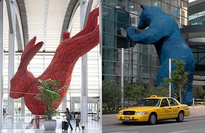 Огромные игрушки: монументальная скульптура Лоренса Арджента