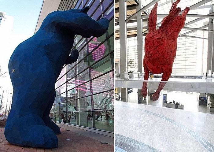 Звери-большуны: монументальная скульптура Лоренса Арджента