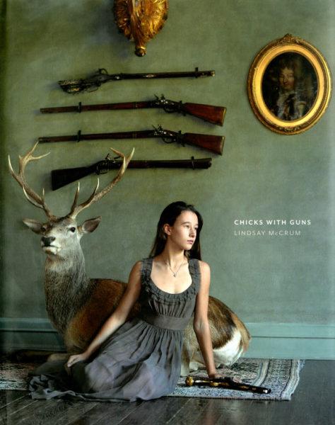 Женщины с оружием: сборник фотографий Линдси Маккрам