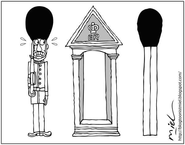 Найдите 10 отличий: беспорядки в Лондоне глазами художников-карикатуристов