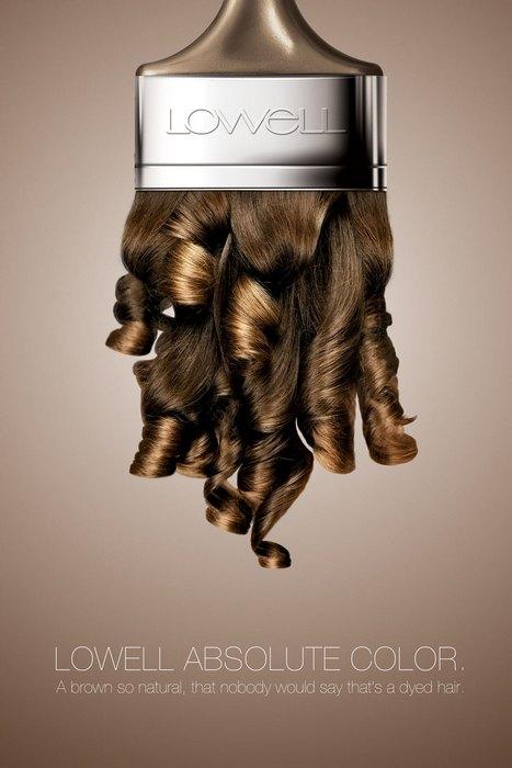 Странные кисточки: нестандартная реклама краски для волос