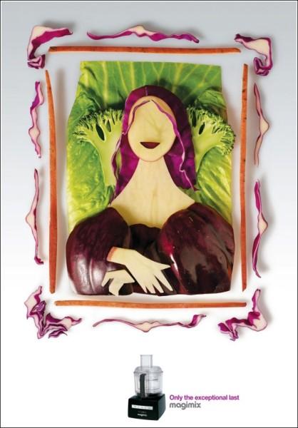Да Винчи в стиле Арчимбольдо: картинки из овощей