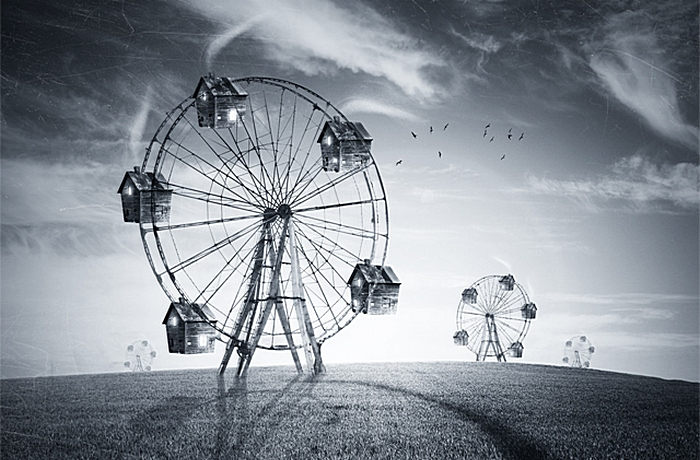 Дома на колесах: сюрреалистический фотоарт Мануэля Родригеса Санчеса
