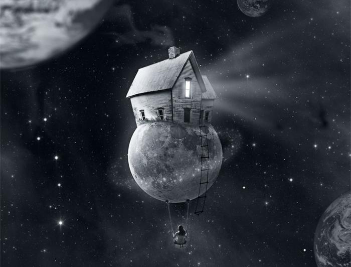 Земля - наш дом: сюрреалистический фотоарт Мануэля Родригеса Санчеса