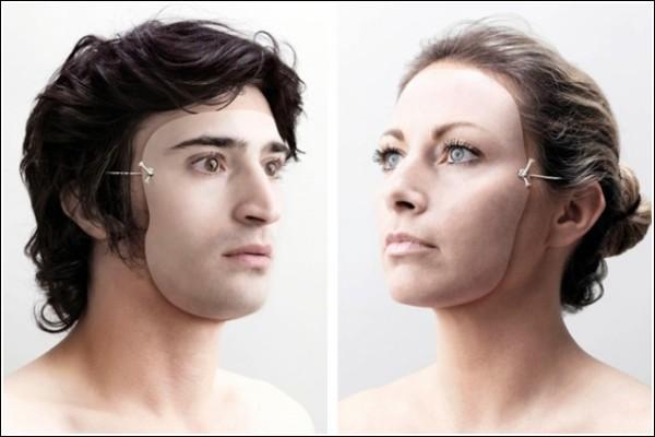 Креативные фотографии Джузеппе Мастроматтео: маски так похожи на лица!