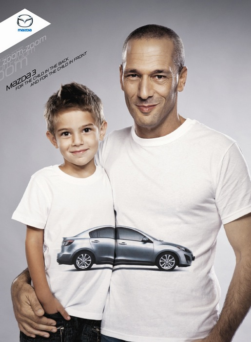 Отцы и дети: оригинальная реклама «Мазды»