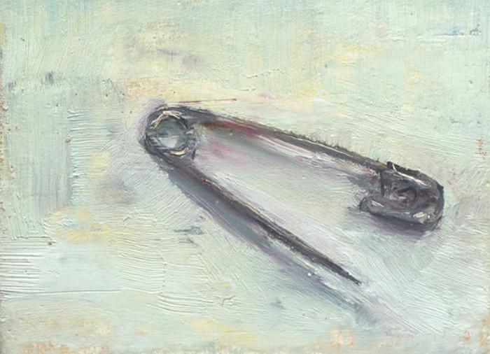 Всего лишь булавка: масляная живопись Майкла Кнуда Росса