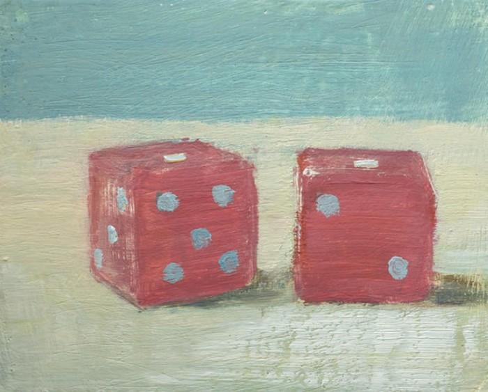 Обычные кубики: масляная живопись Майкла Кнуда Росса