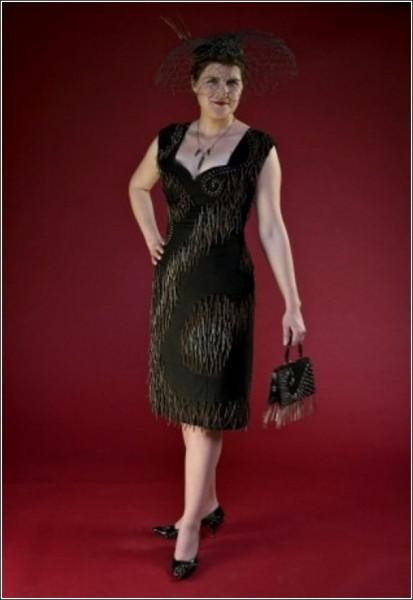 Трэш-кутюр: вечернее платье и ржавые гвозди - две вещи несовместные?