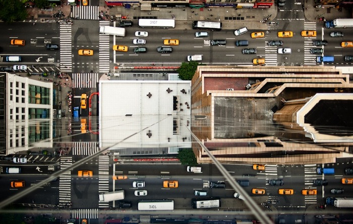 Перекрестки: городские фотографии Навида Барати