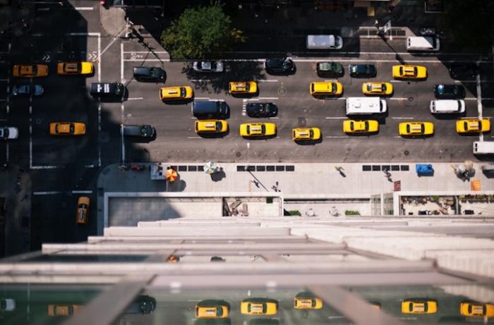 Перекрестки: городские фотографии с высоты птичьего полета