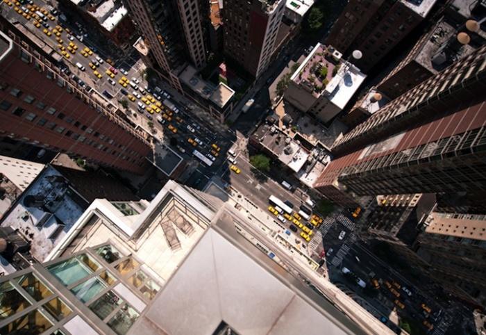 Ритм Нью-Йорка можно оценить, только глядя с большой высоты