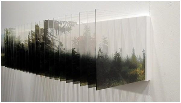 Многослойные фотопейзажи Нобухиро Наканиши: туманный размытый мир