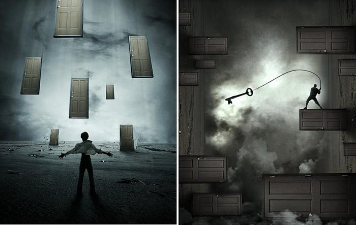 Ключи и двери: фотоманипуляции Норвика Фернандеса Австрии