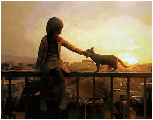 3D + 2D: картины-скульптуры Шинтаро Охаты о счастливом детстве