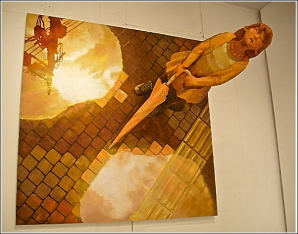 Картины-скульптуры Шинтаро Охаты: кажется, дождь собирается?