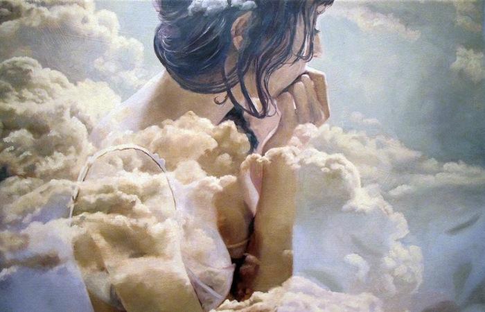 Двойная экспозиция: акриловая и масляная живопись Пакайлы Рэ Бин