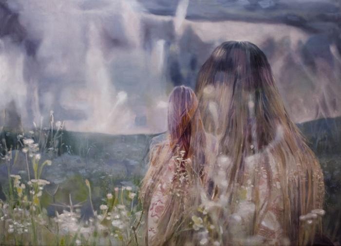 Меланхоличные истории: акриловая и масляная живопись Пакайлы Рэ Бин
