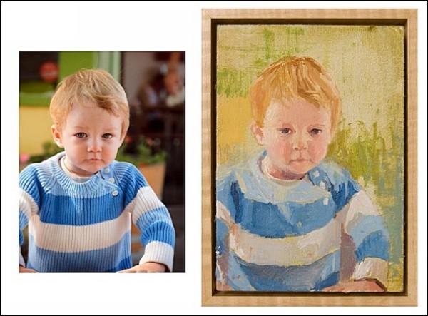Фотографии, которые становятся картинами: детские портреты
