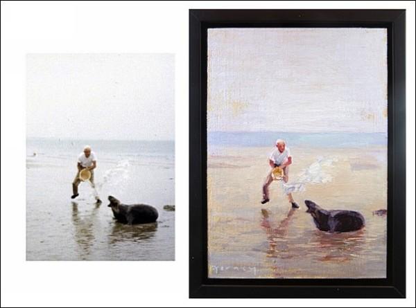 Динамичные картины: масляная живопись Пола Ферни