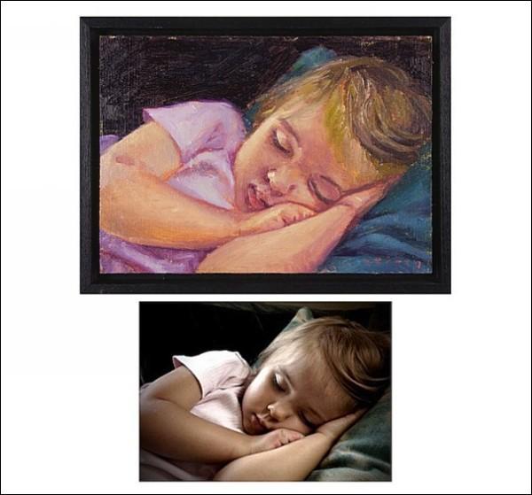 Портрет во сне: масляная живопись Пола Ферни