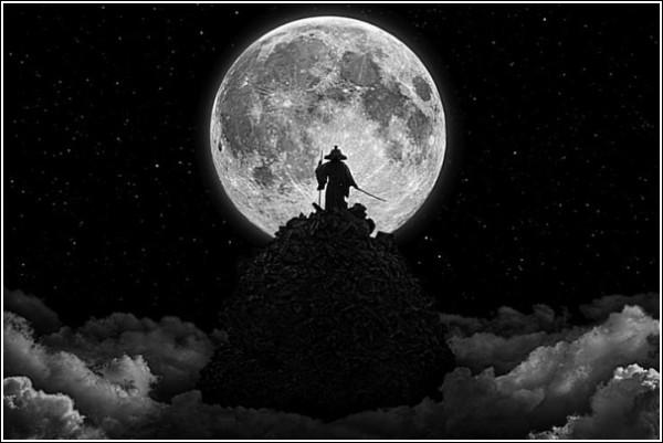 Путь к просветлению: луна