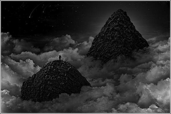 Море облаков: черно-белые фотоработы Ника Педерсена