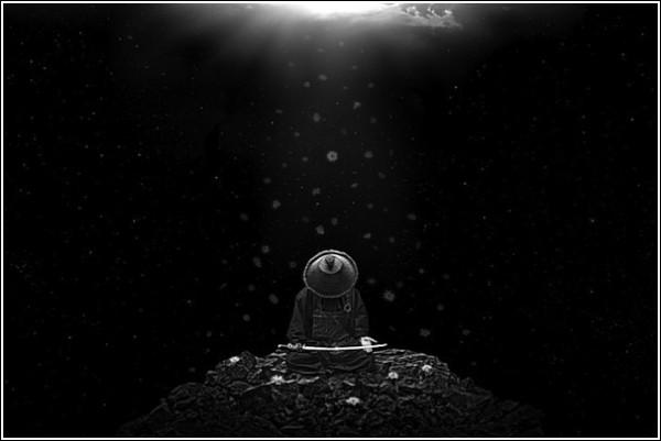 Благодать: черно-белые фотоработы Ника Педерсена
