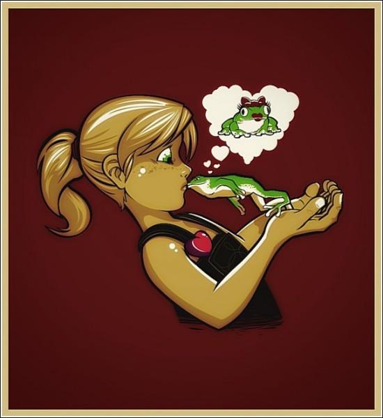 Царевна-лягушка. Продолжение: веселые рисунки Эдно Перейры