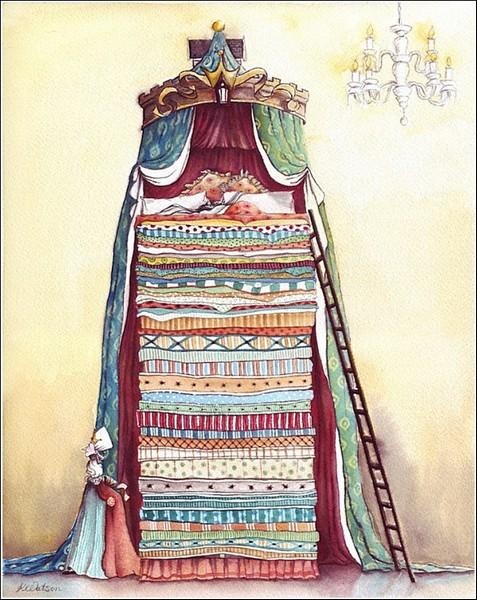 *Принцесса на горошине*: иллюстрации к книгам Карен Уотсон