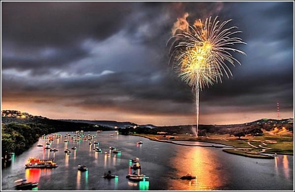 Фейерверк на воде: фотопейзажи Трея Рэтклиффа