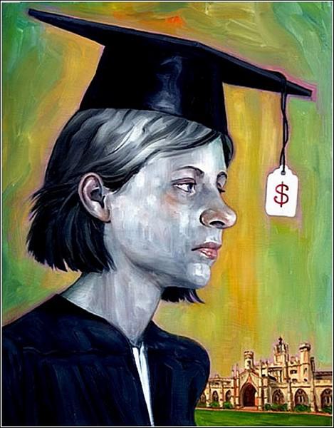 Расценки на обучение: яркие рисунки Роберта Картера