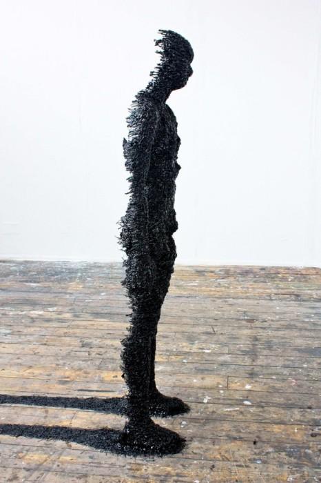 Скульптура человека и его двойника: творчество Рука Флоро
