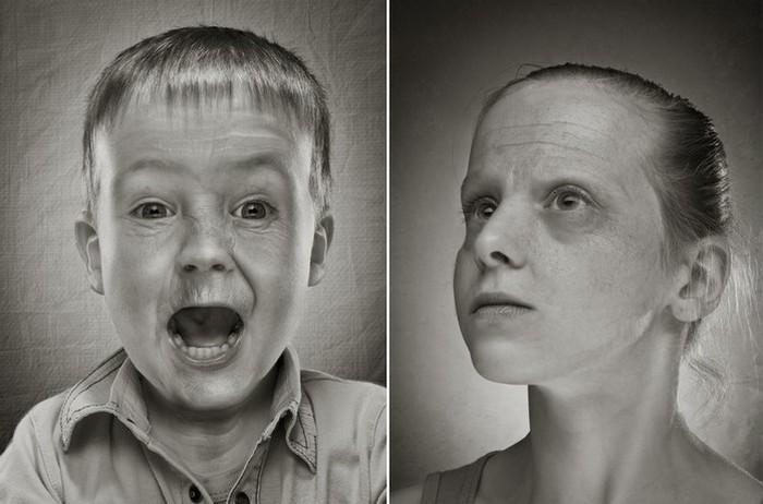 Ты взрослеть не торопись: странные фотографии Руада Делоне