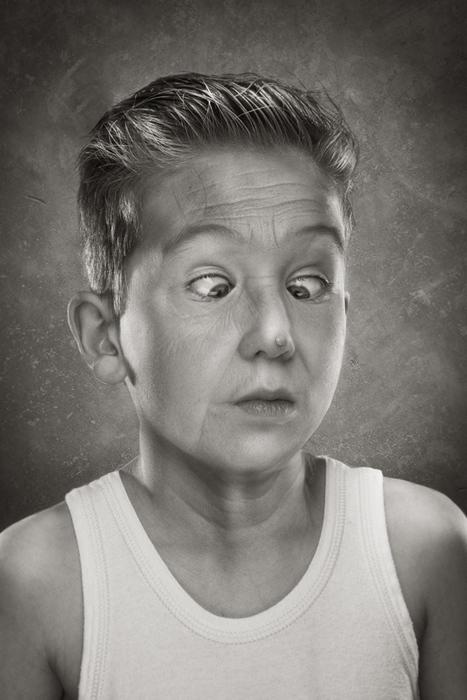 Дети от 2 до 9 лет на странных фотографиях Руада Делоне