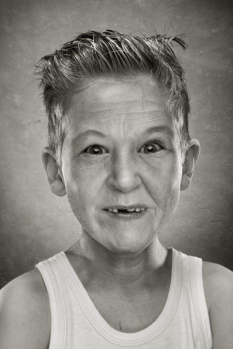 Смесь старости и юности: странные фотографии Руада Делоне